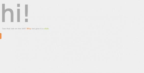jQuery slideout tab demo