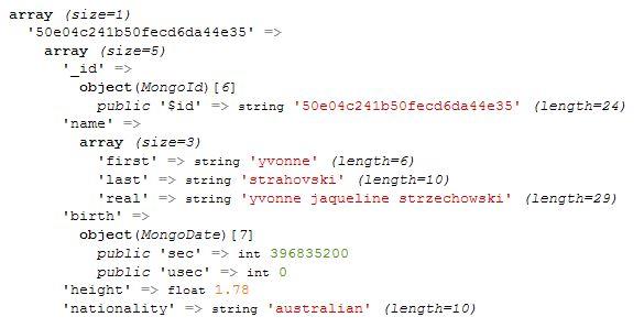 PHP MongoDB Driver
